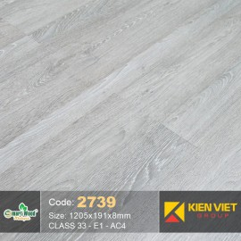 Sàn gỗ Smartwood AC4 2739 | 8mm