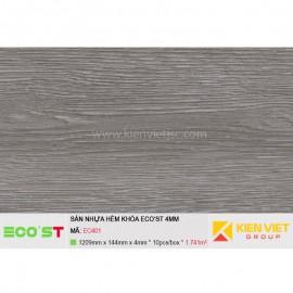 Sàn nhựa hèm khóa Ecost EC401 | 4mm