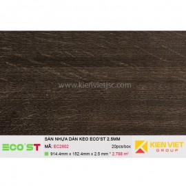 Sàn nhựa dán keo Ecost EC2802   2,5mm