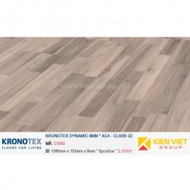 Sàn gỗ Kronotex Dynamic D3582 Muna Teak Elegant | 8mm