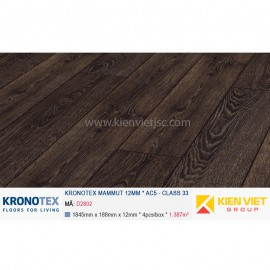 Sàn gỗ Kronotex Mammut D2802 Capital Oak Coffee | 12mm