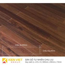 Sàn gỗ tự nhiên Chiu Liu 600x15mm