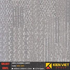 Sàn nhựa dán keo Galaxy vân thảm MSC 2201 | 3mm