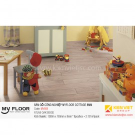Sàn gỗ MyFloor Cottage MV808 Atlas Oak Beige | 8mm
