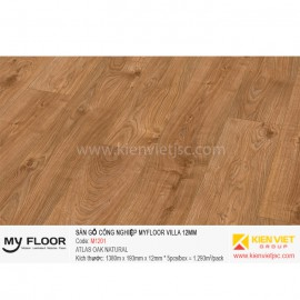 SÀN GỖ MYFLOOR Villa M1201 ATLAS OAK NATURAL | 12mm