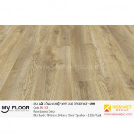 Sàn gỗ MyFloor Residence ML1008 Makro Oak Natural | 10mm