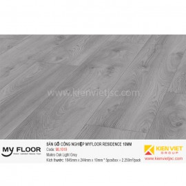 Sàn gỗ MyFloor Residence ML1019 Makro Oak Light Grey | 10mm