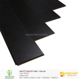 Sàn gỗ công nghiệp Thaiever TE1212 Embony Oak | 12mm bản nhỏ