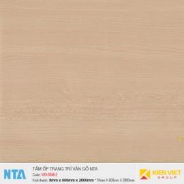 Tấm ốp nhựa đá vân gỗ NTA 8548-2 | 8mm