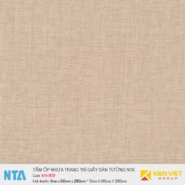 Tấm ốp nhựa vân giấy dán tường NTA 9839 | 8mm