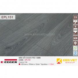 Sàn gỗ Egger Pro EPL151 Grey North Oka | 12mm
