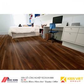 Sàn gỗ công nghiệp Redsun R86 | 8mm bản nhỏ