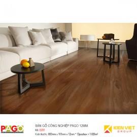 Sàn gỗ công nghiệp Pago D201 | 12mm