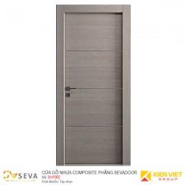 Cửa gỗ nhựa Composite phẳng Sevadoor SV-P002