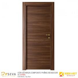 Cửa gỗ nhựa Composite phẳng Sevadoor SV-P003