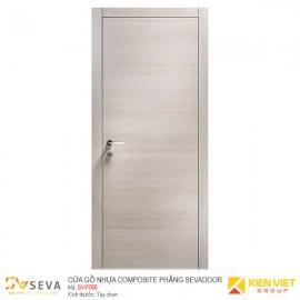 Cửa gỗ nhựa Composite phẳng Sevadoor SV-P006