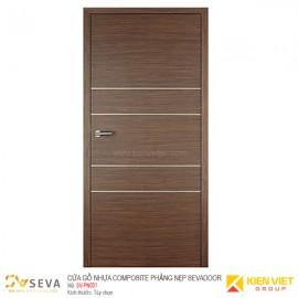Cửa gỗ nhựa Composite phẳng nẹp Sevadoor SV-PN001