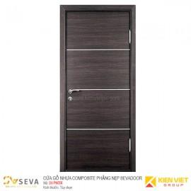 Cửa gỗ nhựa Composite phẳng nẹp Sevadoor SV-PN004