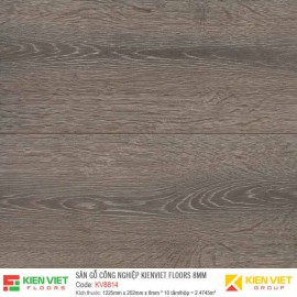 Sàn gỗ Kienviet Floor KV8814 hèm V | 8mm
