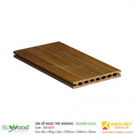 Sàn gỗ Composite Biowood Decking DB16820