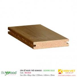 Sàn gỗ Composite Biowood Decking DBS14028