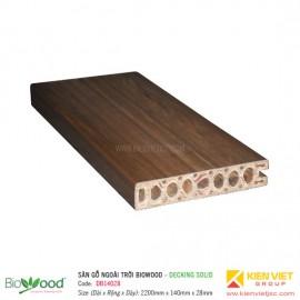 Sàn gỗ Composite Biowood Decking DBE14028