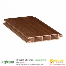 Gỗ ốp tường 150x25mm Biowood WPO15025