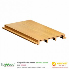 Gỗ ốp tường 180x25mm Biowood WPO18025