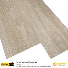 Sàn nhựa dán keo vân gỗ Golden DP202 | 2mm
