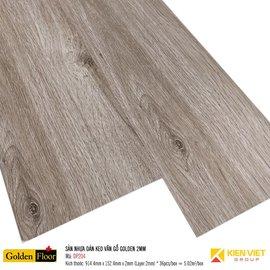 Sàn nhựa dán keo vân gỗ Golden DP204 | 2mm