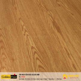 Sàn nhựa hèm khóa Golden DP608   6mm
