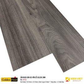 Sàn nhựa dán keo vân gỗ Golden DP303 | 3mm