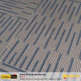 Sàn nhựa dán keo Golden vân thảm DP332 | 3mm