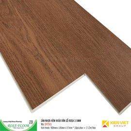 Sàn nhựa hèm khóa Rosa SPC DP3501   3.5mm