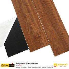 Sàn nhựa dán keo tự dính Golden DP2509 | 2.5mm