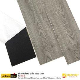 Sàn nhựa dán keo tự dính Golden DP2510 | 2.5mm
