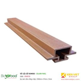 Thanh ốp cột 57x35mm Biowood CPJ05735