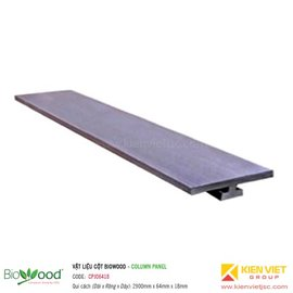 Thanh ốp cột 64x18mm Biowood CPJ06418