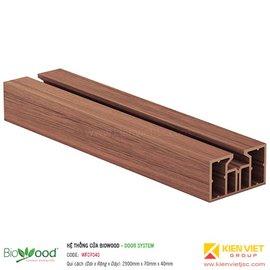 Khung cửa 70x40mm Biowood WF07040
