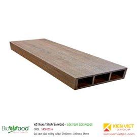 Thanh định hình dày 100x35mm Biowood S4SO10035