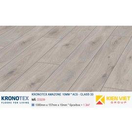 Sàn gỗ Kronotex Amazone D3239 Prestige Oak White | 10mm