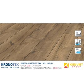 Sàn gỗ Kronotex Aqua Robusto P1211 Catania Oak | 12mm