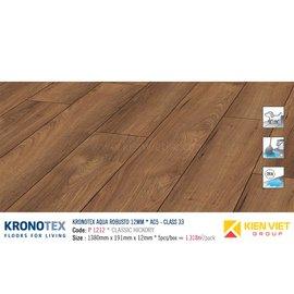 Sàn gỗ Kronotex Aqua Robusto P1212 Classic Hickory | 12mm