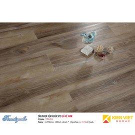 Sàn nhựa hèm khóa SPC giá rẻ YF616 | 4mm