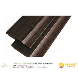 Tấm ốp tre Lavie Bamboo tấm ốp có hèm màu tối LBCB091-185L