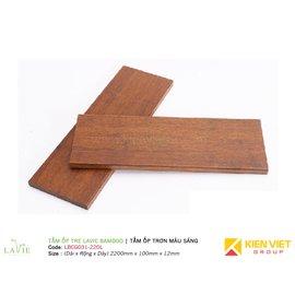 Tấm ốp tre Lavie Bamboo tấm ốp trơn màu sáng LBCG031-220L