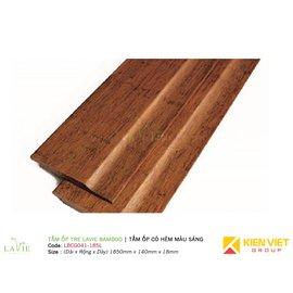 Tấm ốp tre Lavie Bamboo tấm ốp có hèm màu sáng LBCG041-185L