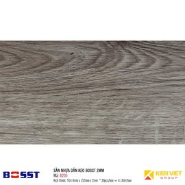 Sàn nhựa dán keo Bosst B205| 2mm