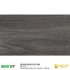 Sàn nhựa dán keo Ecost EC301 | 3mm