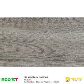 Sàn nhựa dán keo Ecost EC302 | 3mm